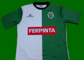 Sporting Lisbon Stromp shirt of the skater André Pimenta