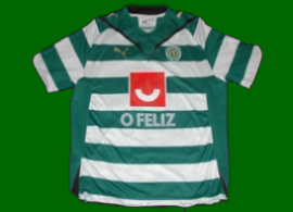 Sporting Lisbon Roller skate hockey game worn shirt Hernani Bastos