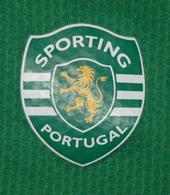 Equipamento de treino de um atleta do Sporting, com patrocínio da Açoreana Seguros 2007 08