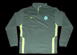 Longsleeved training Polo from a Sporting Lisbon athlete 2005 06