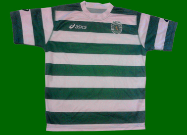 Sporting Lisbon rugby school, made by Asics