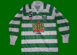 Sporting Lisbon Voleyball female team 91 92 Match worn by Kenia