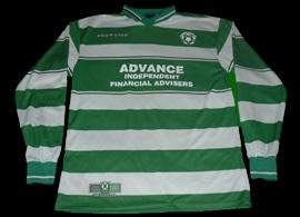 Alsager Celtic FC match worn shirt