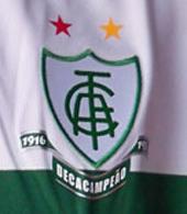 America Futebol Clube Minas Gerais camisola de guarda redes
