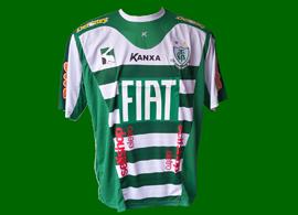 América Mineiro Minas Gerais camisa de goleiro