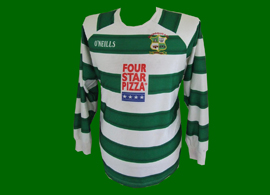 Ballincollig AFC, Ireland, match worn shirt. Amateur club from the City of Cork
