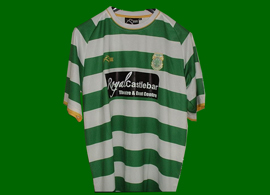 match worn jersey Castlebar Celtic Republic of Ireland