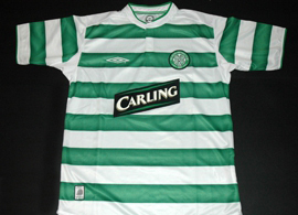 Celtic Football Club shirt jersey Scotland Glasgow