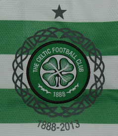 125th anniversary shirt of Celtic Football Club