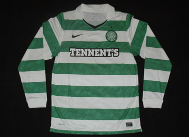 The Celtic Glasgow Football Club, 2010/11 and 2011/12. Special Champions League edition jersey
