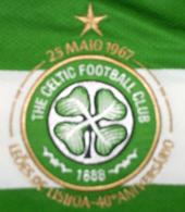 Camisola comemorativa da conquista do Campeonato Europeu a 25 de Maio de 1967