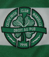 Celtic Irish Club Marseille, Camisola de jogo, França