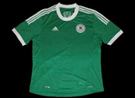 Deutscher Fussball Bund trikot EM 2012 Polen Ukraine