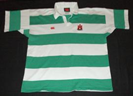 equipamento raguebi Dunbar RFC shirt