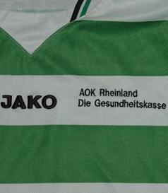Camisola alternativa de jogo do FC Wegberg Beeck, Alemanha