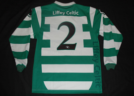 Liffey Celtic FC, Ireland Republic. Match worn top