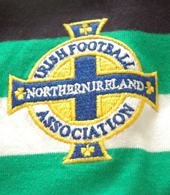 Northern Ireland Irish Football Association jersey