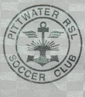 Pittwater RSL Soccer Club Australia 1999 2003 shirt