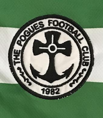 The Pogues 82 Tour Football Shirt 1982 Celtic Anniversary Lisbon Lions