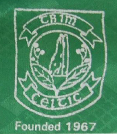 match worn football shirt Trim Celtic AFC