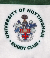 Nottingham University Rugby Club jersey