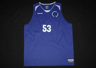VIS Basketball team - Paul's matchworn shirt