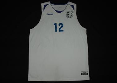 Vienna International School Basketball team - matchworn shirt