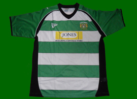 Yeovil Town FC football top England 2010 11