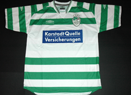 camisola do Greuther Furth