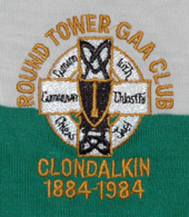 Round Tower GAA match worn gaelic football jersey