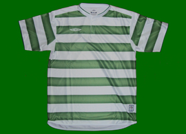 Umbro English make jersey green white