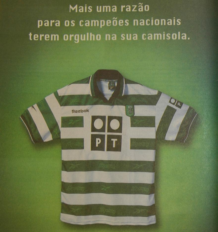 Orgulho na camisola - campeões 2000 Sporting