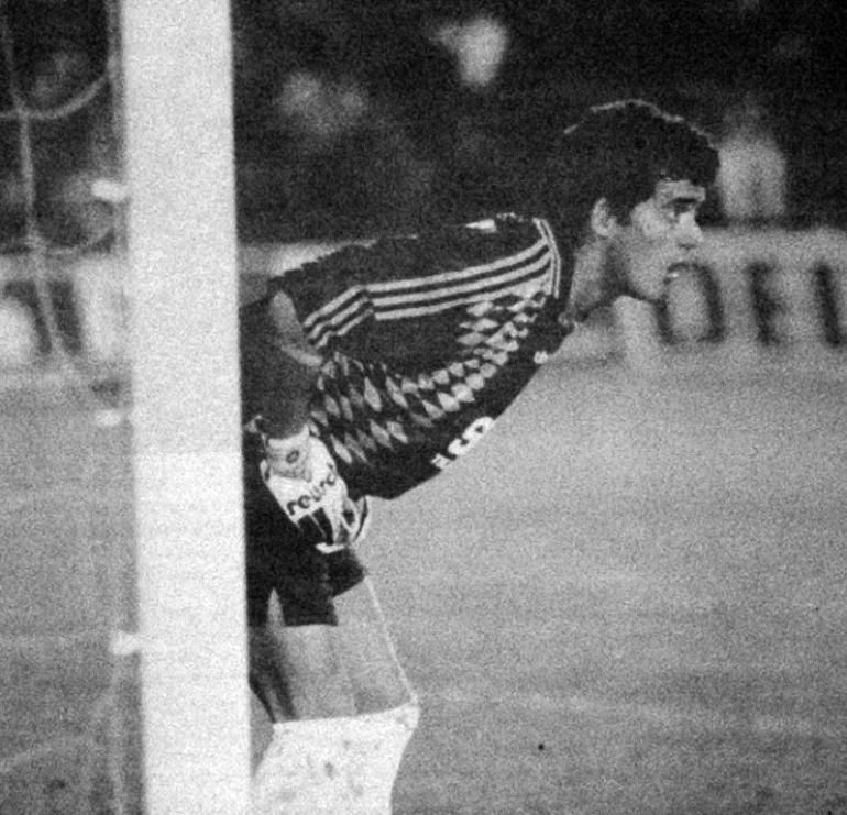 Primeiro jogo do Tiago como senior do Sporting, em 1996