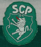 Vintage Sporting Lisbon shirt made by the still existing sports house King Sport of Espinho
