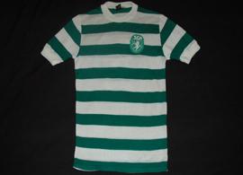 Anos 1970. Camisola vintage do Sporting feita pela King Sport de Espinho