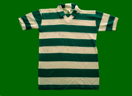 Sporting Portugal 1986 87 child top, signed by the squad