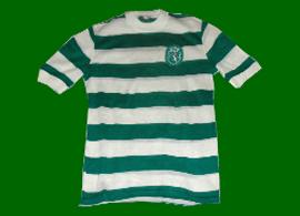camisola do Sporting casa das bandeiras anos 70