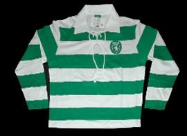 SCP Sporting replica classic jersey 2007