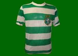 camisola contrafeita antiga do Sporting anos 70