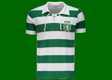 Camisola listada retro 1954, não oficial. Produzida no Brasil, marca Retrômania