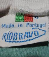 Equipamento do Sporting de marca Rio Bravo