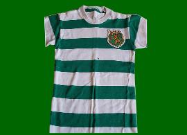 camisola do Sporting réplica anos 1970, vendida como se fosse da loja oficial do Clube