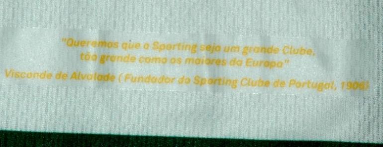 Queremos que o Sporting seja um grande Clube, tão grande como os maiores da Europa