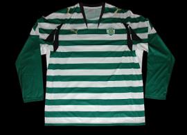 Sample da Puma. Camisolas de mangas compridas não foram vendidas sem o patrocínio 07/08