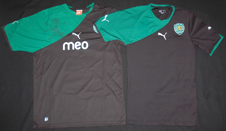 Equipamentos do Sporting em 2007/08: crianças, jovens, adultos