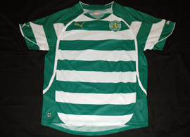 jersey Sporting Portugal 2010 2011 sample Puma