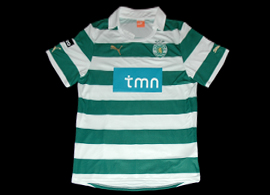 new Sporting Lisbon jersey 2011 2012 Puma sample