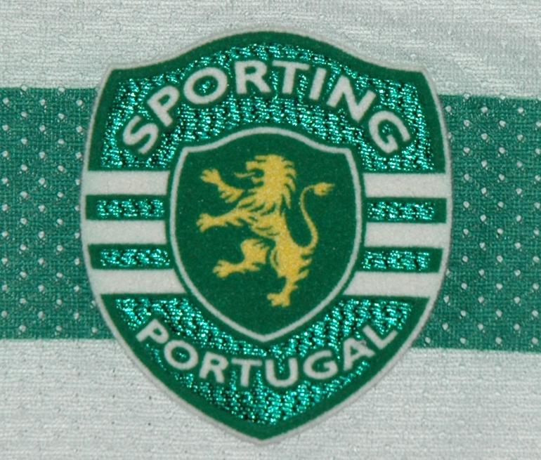 Emblema do Sporting de sample da Puma 2008/09