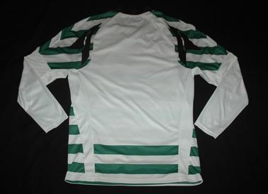 Sample da Puma de mangas compridas e costas em branco Sporting
