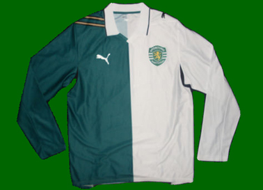 Stromp jersey, Puma sample with the gree and white sides switched. An epic fail!